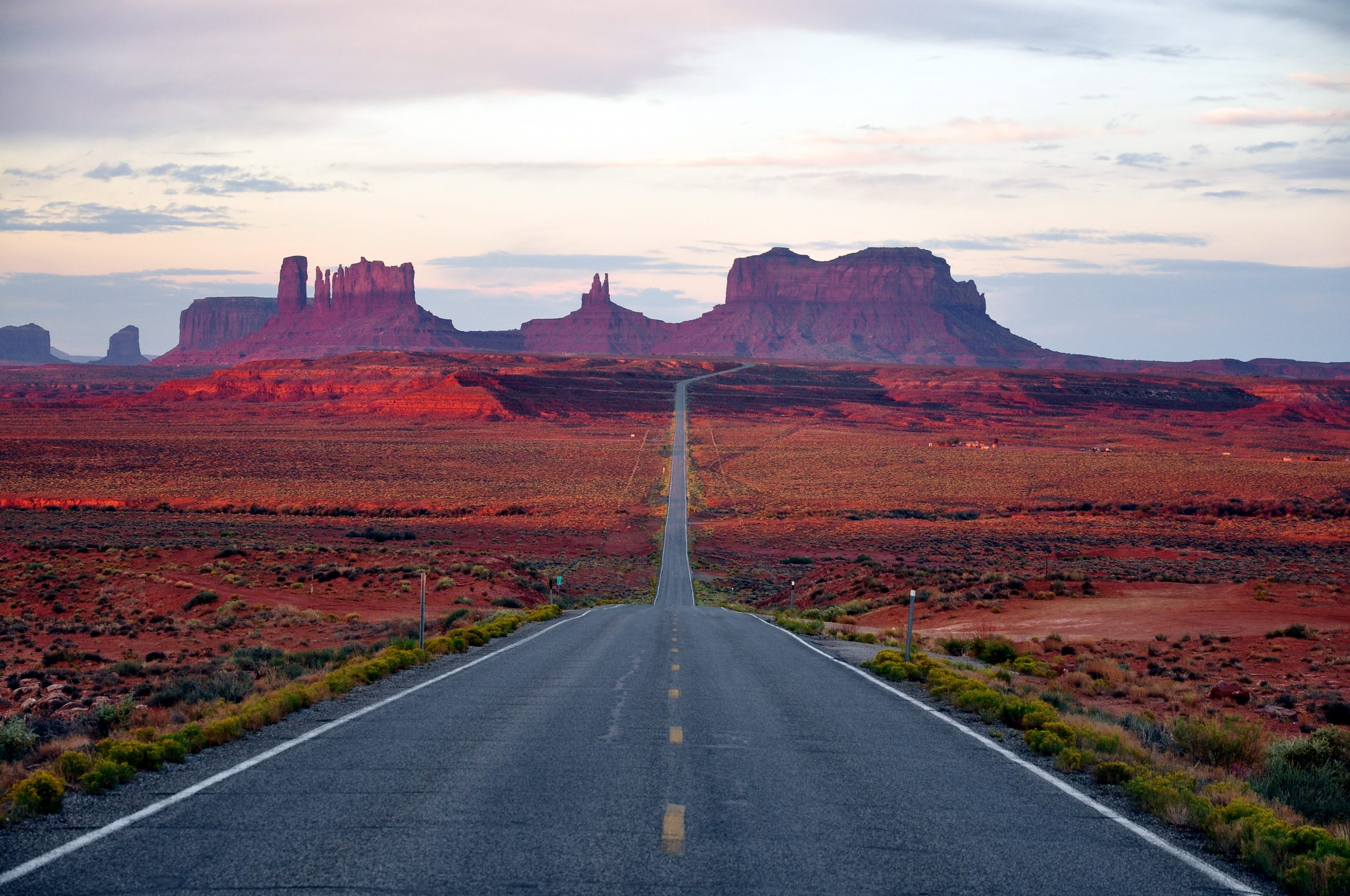 Route to Monument Valley
