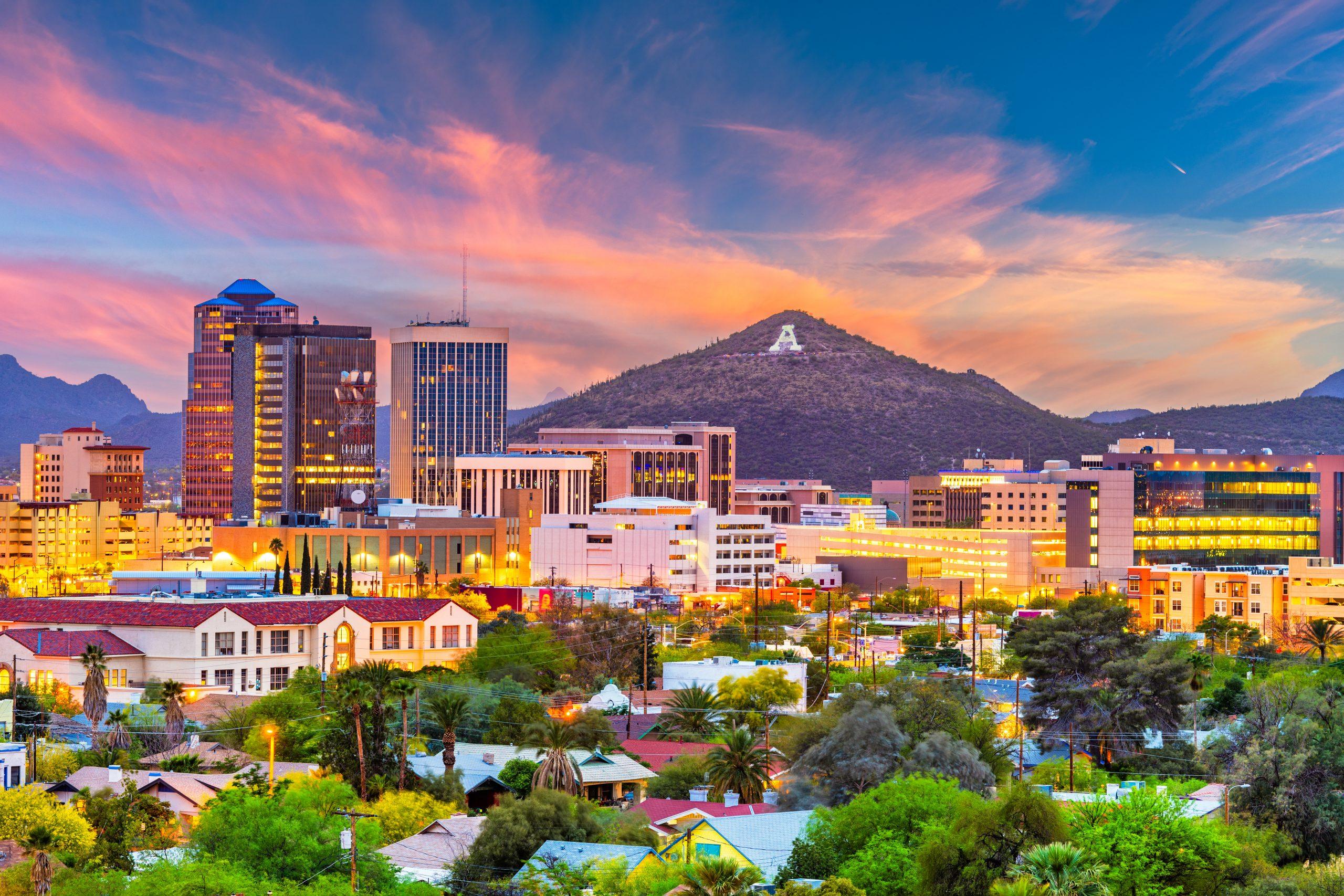 Tucson city view